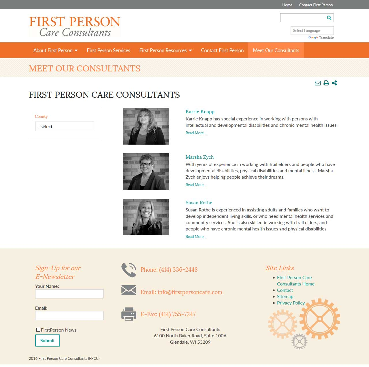 First Person Care Consultants - Screen Shot 6