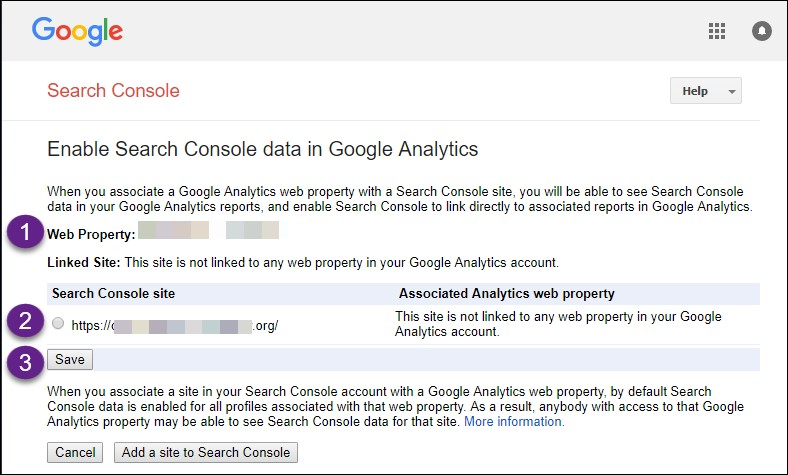 Search Console Step by Step Set Up