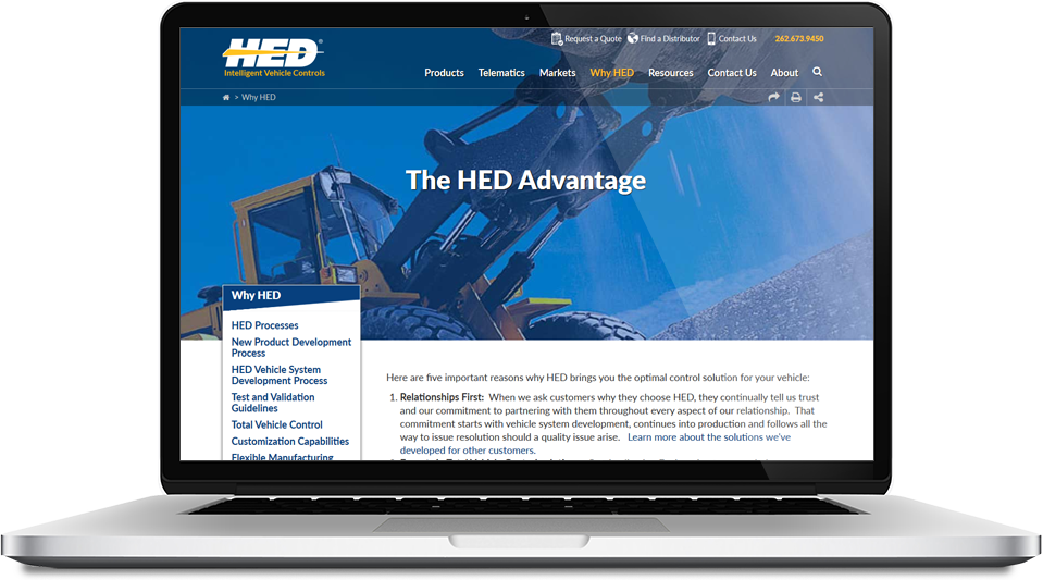 HED Hydro Electronic Devices, Inc. - Screen Shot 6