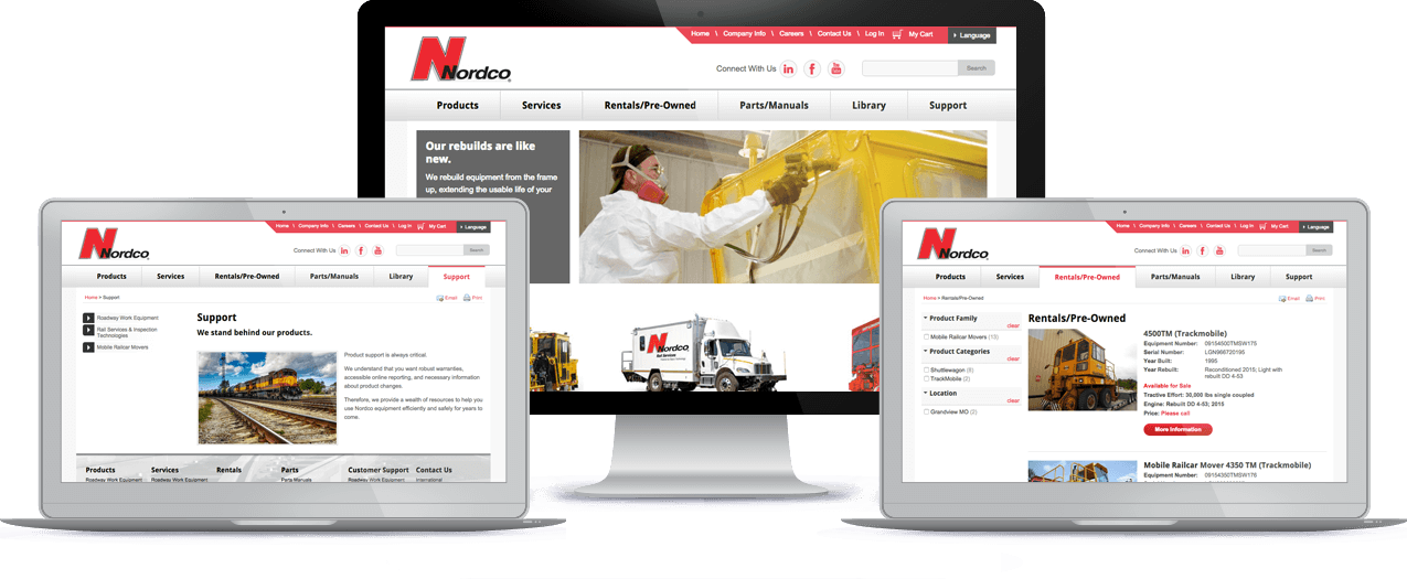 Nordco | Northwoods Web Solutions